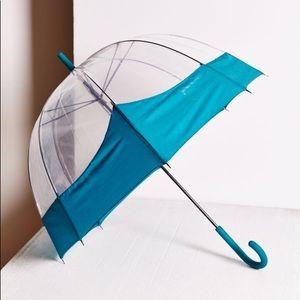 NWT Hunter Moustache' Bubble Umbrella -Teal